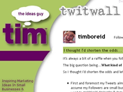 Tims-twitwall